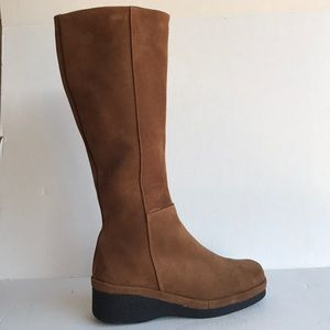 Vittoria Made in Spain Suede Knee High Boots 9M